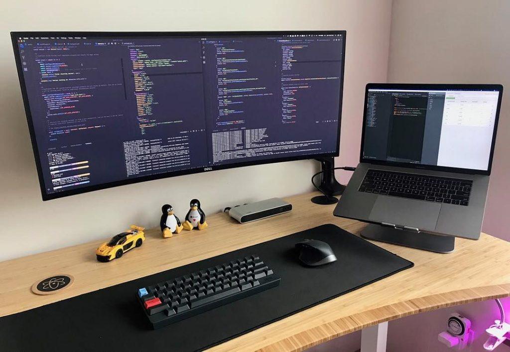 Um setup de desenvolvedor