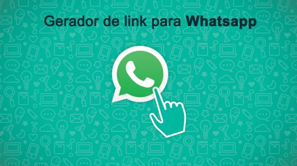 Gerador de link para o Whatsapp